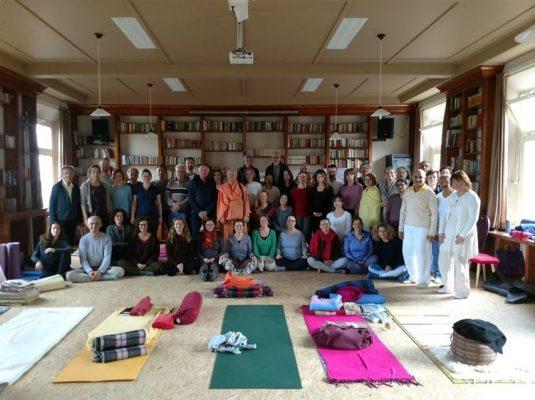 Verslag en foto van Weekend Retreat on Inner Silence and Mudras with Swami Tat Sat Bharati